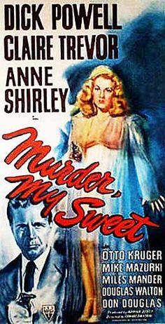 murder, my sweet poster | Murder My Sweet movie poster