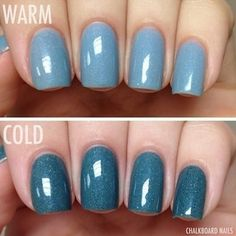Pretty & Polished Color Changing Nail Polish | 28 Magical Beauty Products That Are Pure Genius (via BuzzFeed)