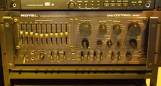 RC-5000 the flagship of ROTEL preamps