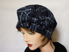 Sparkle Tartan Cloche Hat by SatzDesign, Etsy  It's great to see that more people are wearing hats these days and not just the knitted kind,  The cloche in particular is seeing a popular come back.  This tartan number can't fail to cheer up winter with the added sparkle!