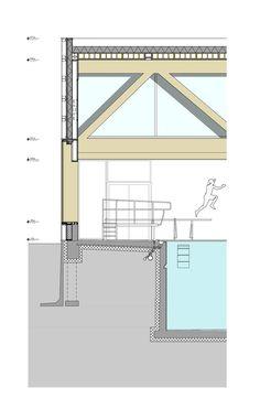 Rooftop Swimming Pool Diagram Section Diagrams Drawings Models In 2018 Pinterest