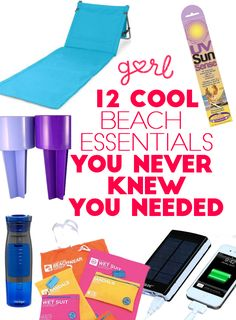 12 Cool Beach Essentials You Never Knew You Needed #BeachVacation