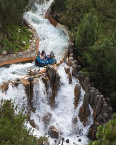 Grizzly River Run- Disneyland
