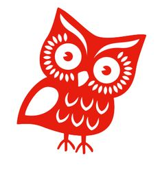 red owl illustration for the 'Smashing Book 2' by Yiying Lu