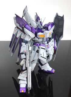 GUNDAM GUY: MG 1/100 Hi Nu Gundam Ver.Ka HWS - Painted Build