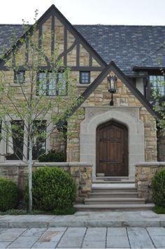 Tudor door + entry