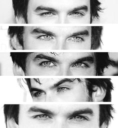 I could get lost in there.... Ian why are you so attractive?
