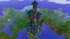 Minecraft Blueprints Wizard Tower Step By Step Google