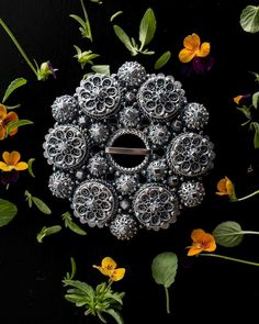 Filigree Jewelry, Badges, Brooches, Belts, Wreaths, Traditional, Halloween, Crafts, Inspiration
