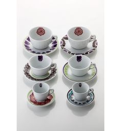 SET OF 6 MUGS Paola Navone