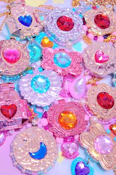 Pretty in Pink Rainbow Aesthetic, Pink Aesthetic, Desu Desu, L Wallpaper, Mode Inspiration, Pastel Goth, Magical Girl, Steam Punk, Girly Things