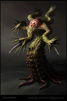 PanPanarih - creature concept by *Cloister on deviantART