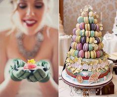interesting wedding macarons #yummy | http://my-great-food-photos.blogspot.com
