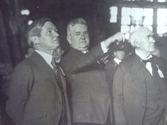 The year is and Edison is being given a tour of the new Kearny Generating station by Public Service Electric & Gas Company's founder Thomas N. Also on the tour at left is then governor of NJ, A. Alva Edison, Gas Company, Public Service, Electric, Tours, Memories, Fictional Characters, Memoirs, Remember This