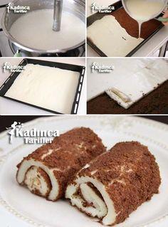 Bananenwickel Hhnchenbrust Rezept, How To – Banana Wrap Chicken Breast Recipe, How To – # Instructions wrap Subway Cookie Recipes, Far Breton, Turkish Sweets, Most Delicious Recipe, Breast Recipe, Chicken Wraps, Small Cake, Turkish Recipes, Dessert Recipes