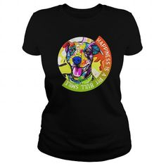Awesome Tee  Happiness is a pit bull smile Love Pitbull Tshirts Love Pitbull shirts Love Pit bull Shirts T-Shirts #tee #tshirt #named tshirt #hobbie tshirts #love Pit Bull Love, Love Shirt, Great T Shirts, Cool Tees, World Of Fashion, Pitbulls, Tee Shirts, Bsl, Pets