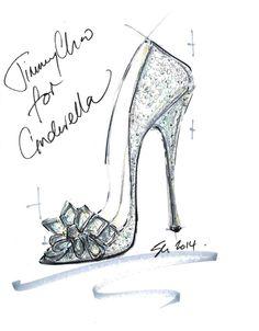 『シンデレラ』×「ジミー・チュウ(Jimmy Choo)」ガラスの靴