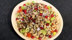 Healthy and Flavourful Chaat Recipe Healthy Salad Recipes, Healthy Snacks, Indian Cooking Videos, Chaat Recipe, Bean Salad, White Beans, Fruit Salad, Food, Health Snacks