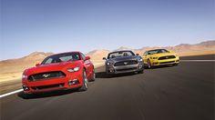 ¿Cuales son los colores favoritos del nuevo Ford Mustang?