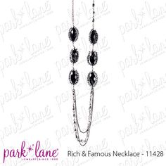"Facebook contest for 3/26/12. Park Lane will be randomly selecting at least 5 winners throughout the day until 5pm central to receive a fabulous jewelry sample prize!!!! Click ""Like"" on the ""Rich & Famous Necklace"" on the Official Park Lane POST on the Jewels by Park Lane Inc. Page to be entered! (""Likes"" on shared posts will not be counted.)"
