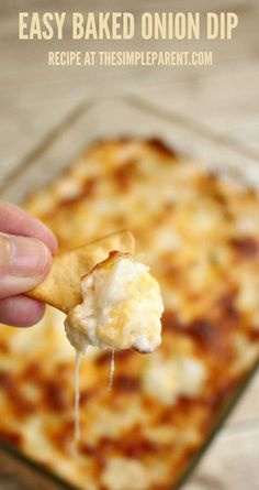 Baked Cream Cheese Onion Dip Recipe is Always a Hit!