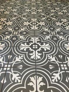 Merola Tile Twenties Classic Encaustic in. Ceramic Floor and Wall Tile sq. / - The Home Depot Cork Flooring, Stone Flooring, Concrete Floors, Flooring Ideas, Penny Flooring, Ceramic Flooring, Garage Flooring, Terrazzo Flooring, Bathroom Floor Tiles