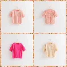 0cbd562aa8e Cute Kids Girls Bows Hollow Out Knitting Crochet Christmas Sweaters Beige  Pink And Rose Color Pullover Half Sleeve Outwears Online with  12.33 Piece  on ...