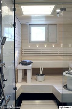 Look at the web simply press the grey link for extra choices - 2 person steam sauna Modern Saunas, Laundry Room Bathroom, Bathrooms, Sauna Design, Finnish Sauna, Steam Sauna, Sauna Room, Spa Rooms, Relaxing Bath