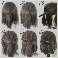 58 Best Short Haircuts For Fall Easy Hairstyles Prom Hair easy Fall Haircuts Hairstyles Short Short Hair Styles Easy, Short Hair Cuts, Medium Hair Styles, Curly Hair Styles, Updo Curly, Short Hair Wedding Styles, How To Style Short Hair, Pixie Cuts, Short Pixie
