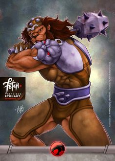 New illustrations for a cards game that I did for Universo Retro about Thundercats. Rights reserved to Rankin/Bass. Grune Art by Franciscoetchart.deviantart.com
