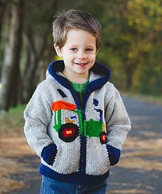 Loving this John Tractor Hoodie - Toddler & Boys on #zulily! #zulilyfinds