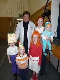 phineas ferb family costumes - Phineas Halloween Costume