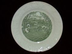 """PASTORAL BY TAYLOR SMITH & TAYLOR 6.5"""" / 6 & 1/2"""" PLATE FROM ESTATE…"""