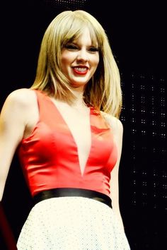 """The red tour - I loved this dress for """"MEAN""""! :) :) :)"""