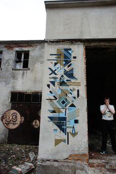 Seikon New Mural In Koronowo, Poland (StreetArtNews)