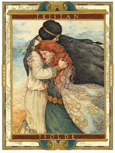 It's a real life fairy-tale, a love story to rival all the greats: Lancelot and Guinevere, Tristan and Isolde, Romeo and Juliet. Art And Illustration, Illustrations, Arte Obscura, Celtic Mythology, Great Love Stories, Fairytale Art, Pre Raphaelite, Art Plastique, Fantasy Art