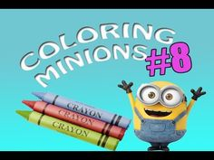 Coloring Grumpy Gru #8 Coloring Book For Kids/ Maya Toys Zone