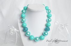 Hey, I found this really awesome Etsy listing at https://www.etsy.com/listing/230054302/teal-turquoise-cyan-blue-green-chunky