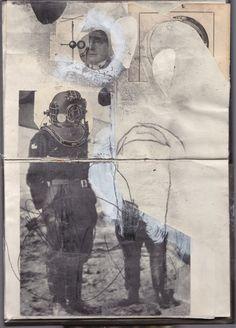 sketchbook: collages
