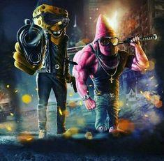 spongebob patrick Wallpaper by susbulut - ea - Free on ZEDGE™ Deadpool Wallpaper, Cartoon Wallpaper, Graffiti Wallpaper, Avengers Wallpaper, Cartoon Kunst, Comic Kunst, Cartoon Art, Comic Art, Character Art