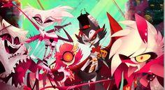 Demon Suicide Squad by Vivziepop, Vivienne Medrano Angel, Husk, Crymini, Niffty, Mimzy