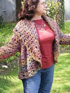 Ravelry: Olivia's Shrug pattern by Lion Brand Yarn, thanks so for pin xox
