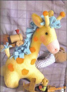 ☃ Plush Toy Preciousness ☃ polka dot stuffed giraffe - pattern and tutorial