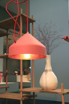 lloop lamp copper pink ontwerplabel Vij5 - bijzonderMOOI* dutch design online