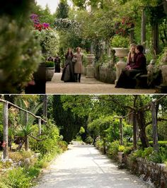 Additional image from Game of Thrones, shot in Trsteno Arboretum, just south of Dubrovnik in Croatia. Image from. Game Of Thrones Set, Game Of Thrones Locations, City Of God, Garden Games, European Summer, Filming Locations, Dubrovnik, Garden Bridge, Beautiful Gardens