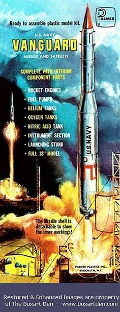 Palmer Vanguard Missile