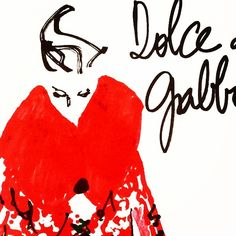#italiansdoitbetter #dolcegabbana #workinprogress #fashionillustration