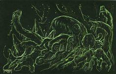 Toad God 2 by Mike Dubisch ( ~Dubisch on deviantART ) dubisch.deviantart.com/