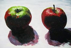 Print Two Sweet Apples by RachelLynnHeisey on Etsy, $44.00