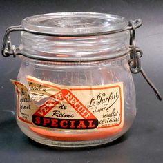Vintage Brevete SGDG Le Parfait Super Wire bail canning jar. Approx Year/Date…